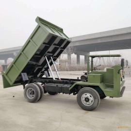 六缸农用翻斗车 前后驱动农用车 四驱动爬山王