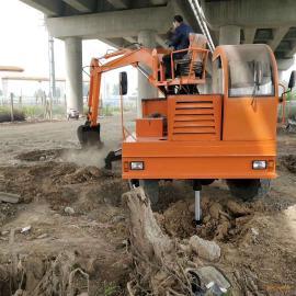 久兴机械 车载式随车挖掘机 四不像农用挖掘机