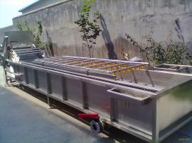 304不锈钢鲜毛豆荚清洗机生产线