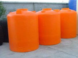 5吨减水剂储罐 5立方絮凝剂储罐 滚塑容器