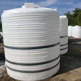 10吨聚羧酸复配储罐 耐酸碱塑胶水塔 10立方絮凝剂储罐
