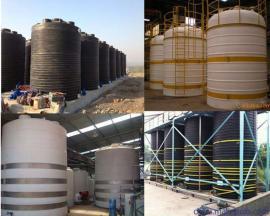 25吨pe水塔 25立方絮凝剂储罐 盐酸储存罐销售