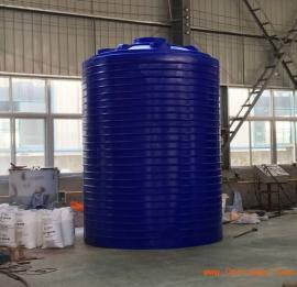 3吨减水剂复配罐 絮凝剂搅拌罐 立式塑料储罐
