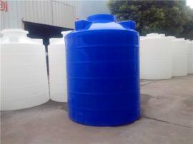 5立方酸碱液罐 5吨絮凝剂储罐商家 环保pe水箱销售