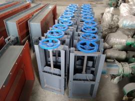手动插板阀用途广泛,碳钢材质不但卸料也能起到截止作用