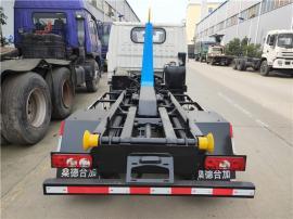 清洁城市3方勾臂垃圾车-3立方拉臂垃圾车-3吨垃圾车