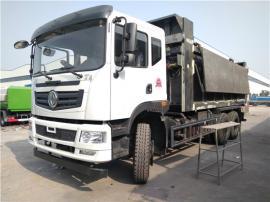 全密封式可拉10吨泥浆10吨污泥运输车