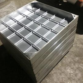 罗明建材304不锈钢隐形井盖下水道下沉式铺装方形井盖定制