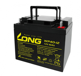 LONG蓄电池WP7.2-12广隆免维护电池12V7.2AH质保三年
