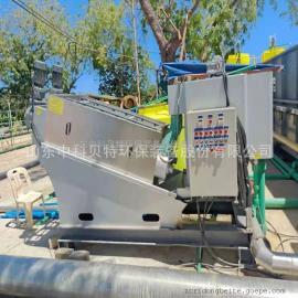 中科贝特定做叠螺式污泥脱水机医院生化污泥处理设备脱水效果环保达标BT