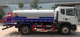 东风新款10吨抗旱浇水车-全功能高端10立方抗旱拉水车订购