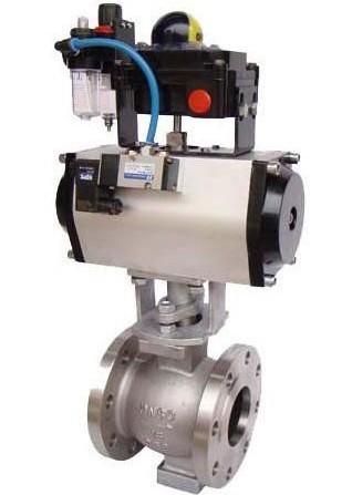 ZSPV-16+气动球阀+气动V型球阀+气动切断阀+Cut-off valve