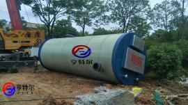 日污水处理量40000立方一体化预制泵站直径3800*8800
