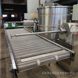 圣之源 粉条机械加工的视频 小型土豆粉条机新型