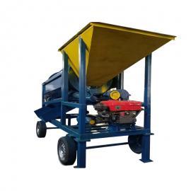 移动滚筒筛、定制单层多层滚筒筛、筛分设备