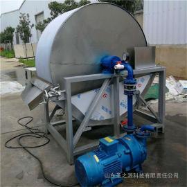 圣之源 薯类淀粉脱水机 转筒式淀粉甩干机