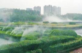 品尚景观林园人造雾喷泉小区人造雾冷雾喷泉