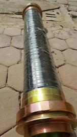 NGD-DN70*500橡胶防爆挠性连接管2.5寸防爆软管