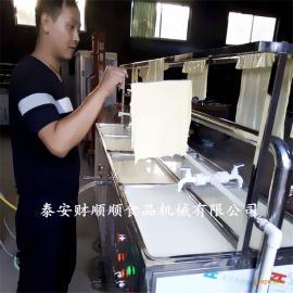 酒店式生态腐竹机 财顺顺智能控温腐竹制作机器