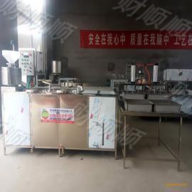 全自动豆腐机生产线 财顺顺豆腐加工机器