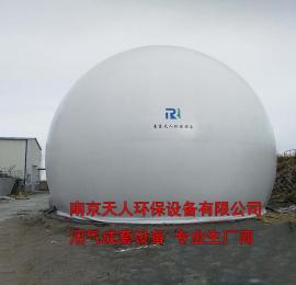天人沼气设备 500方沼气双膜气柜 沼气储气 沼气缓存