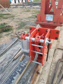 门机港口提梁机电动液压防风铁楔 龙门吊安全防风铁楔 优质耐用