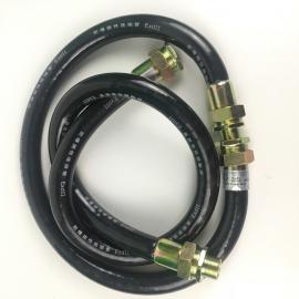 防爆挠性连接管NGD-DN32*700/500橡胶防爆软管一内一外