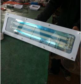 LED2×18W无尘车间密闭防爆洁净荧光照明灯 双管净化灯