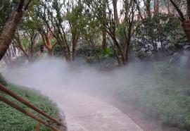 常熟人造雾喷泉安装维修-雾森喷泉设计-冷雾喷泉设备维护保养