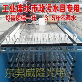 污水明渠排架式UVC灯消毒器紫外线消毒 明渠式紫外线消毒仪