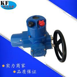 DQW60-0.5T整体调节型部分回转电动执行器 380V调节型球阀电装