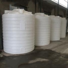 5立方耐酸�A塑料水箱平底塑料水箱