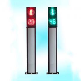一体式人行信号灯(红人绿人加双色倒计时)LED交通信号灯