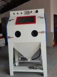 箱体手动加压式喷砂机