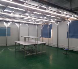 车间万级洁净棚千级洁净棚无尘净化工位棚方案设计