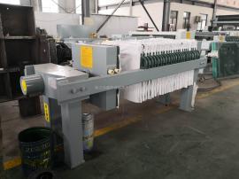 盛世电动自动保压630小型液压压滤机工厂实验室污水过滤污泥压榨�