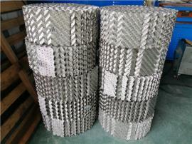500Y金属波纹板规整填料500Y孔板波纹填料用在塔里