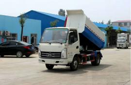 挂桶式垃圾车垃圾清运车小区可卸式垃圾车程力专用汽车厂家