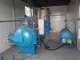 畜禽无害化处理设备--鑫泰高温高压灭菌罐100公斤湿化机