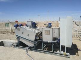 鼎越离心式污泥脱水机设备车载式脱水机设备