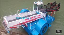 全自动水葫芦打捞船的特点 舟水割草船 保洁船出租