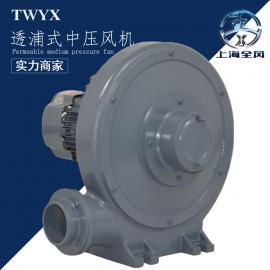印刷设备用鼓风机 防爆鼓风机 2.2kw透浦式中压风机 送风排气泵