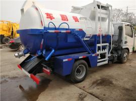10方干湿分离餐厨垃圾回收车 带加热的10吨餐厨垃圾车报价