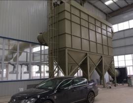 科宇 新化工厂布袋除尘器 钢铁厂 HD型布袋除尘器设备工艺