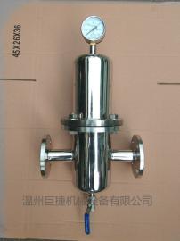 卫生级聚四氟乙烯膜(PTFE)滤芯过滤器,三芯 活性炭钛棒过滤器