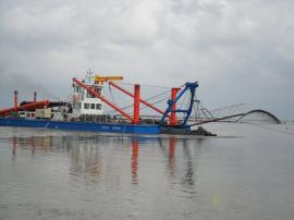 绞吸式抽泥船/绞吸式抽沙船厂家