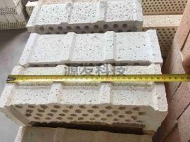 刚玉挡板砖300x100x100 圆孔Φ14mm