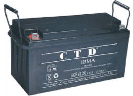 CTD西替帝蓄电池6GFM100 12V100AH蓄电池/金牌代理商专卖