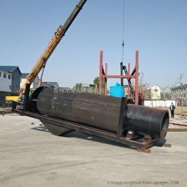 出口俄�_斯�斗式淘金船 河沙采金船 大型沙金�C械
