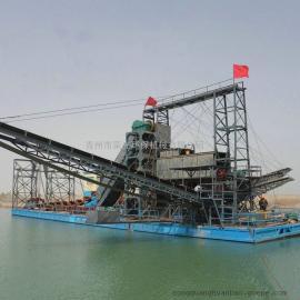 新品上市 �g吸式抽沙淘金船支持定制 淘金船�Y沙�C�砂回收�C